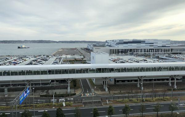 Aichi Sky Expoの風景
